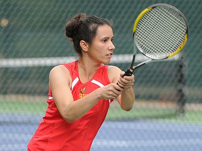 UDC Women's Tennis Goes 8-1 in Rout of NYIT