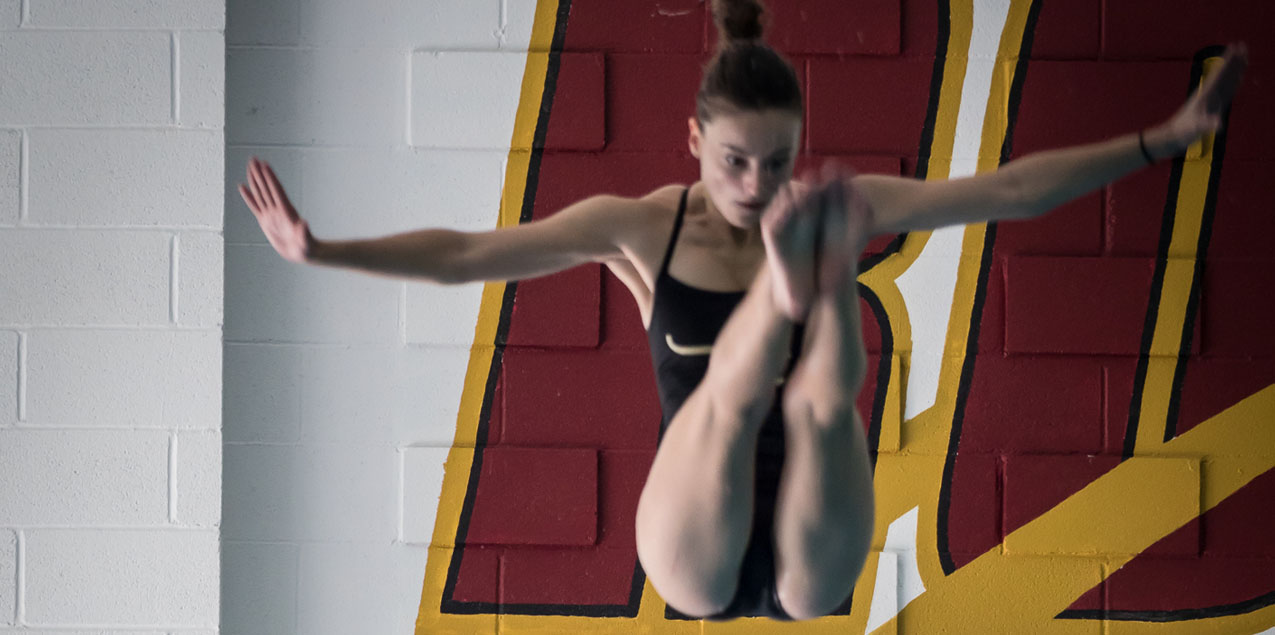 Katherine Tuttle, Austin College, Diver of the Week (Week 8)