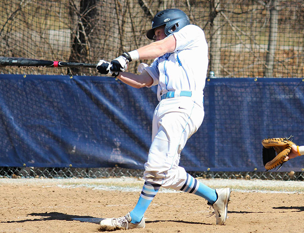 Baseball Splits With Spalding For First SLIAC Loss