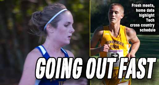 Cross country schedules offer mix of new, familiar