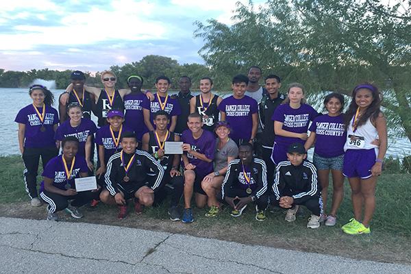 Ranger College Men's CC takes 1st at Hardin Simmons