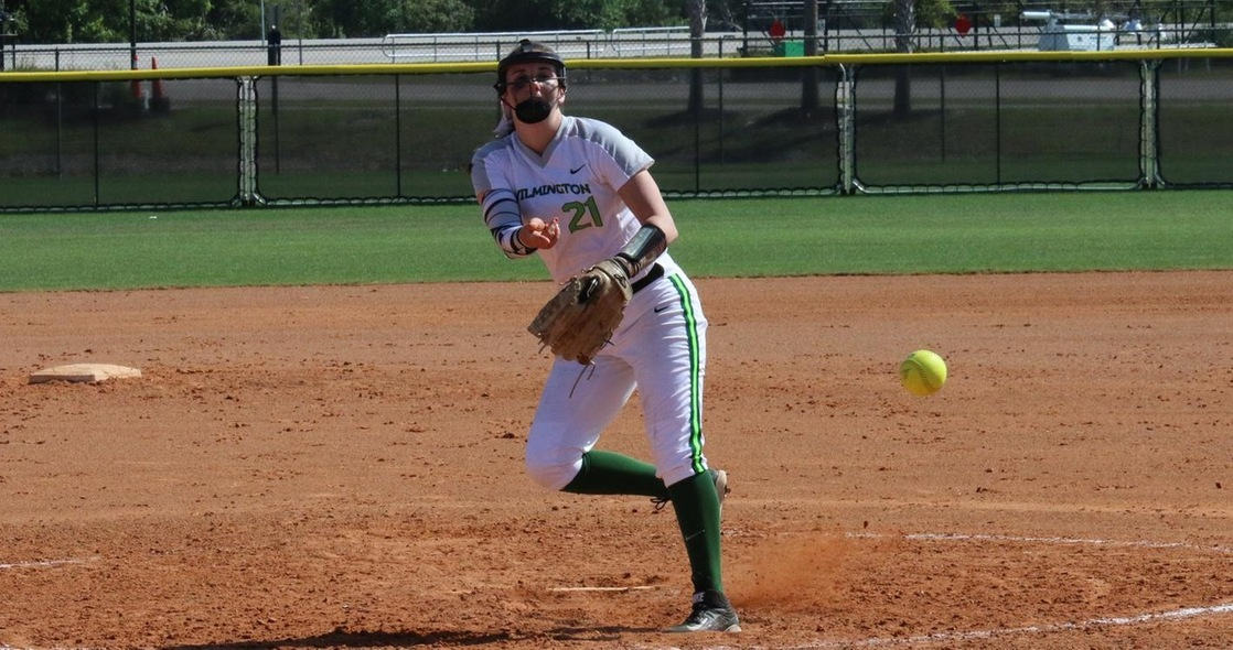 Persicano's Complete Game Shutout Gives Softball Series Split at Albion