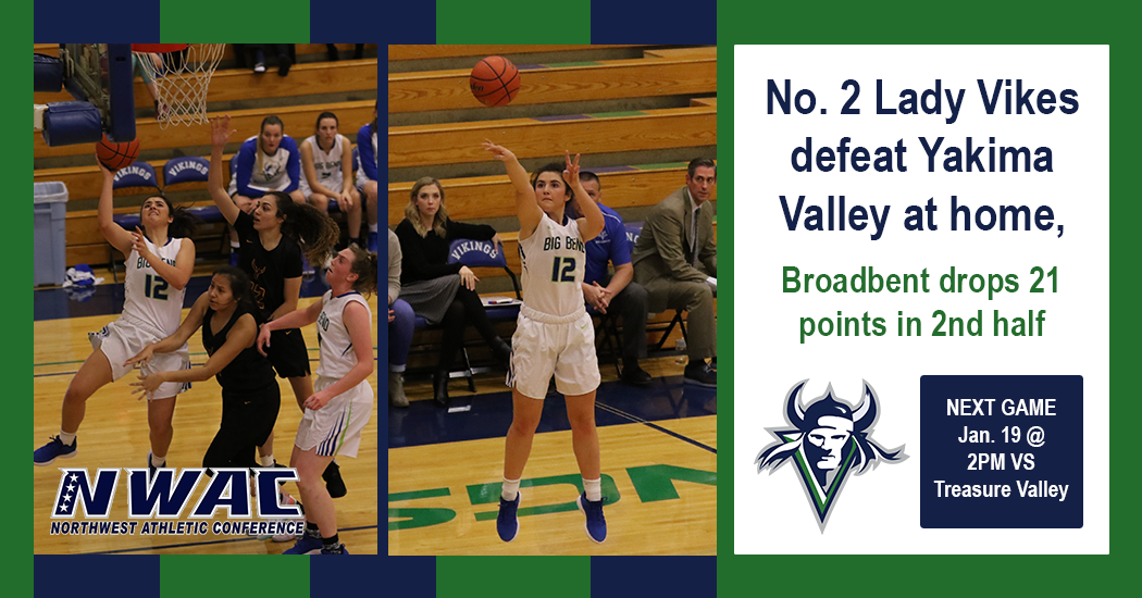 Lady Vikes remain undefeated in NWAC conference play