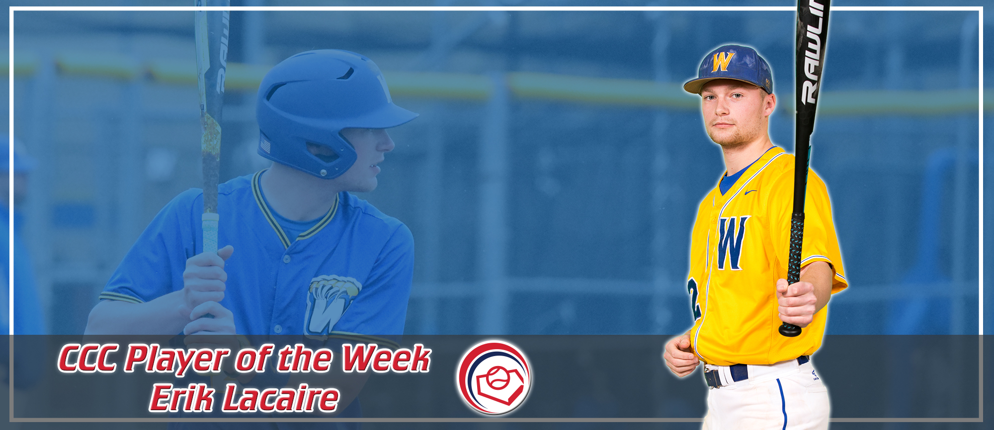 Erik Lacaire Repeats as CCC Player of the Week