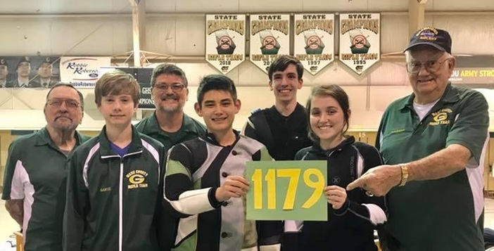 Ware Rifle Team Blasts Windsor Forest, 1179-914