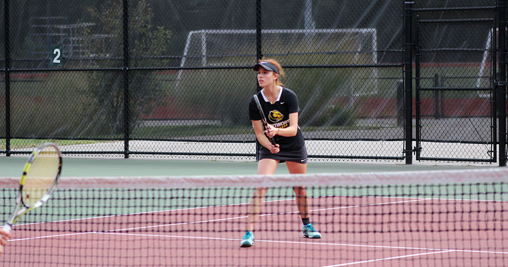 Women's Tennis Picks up First Win