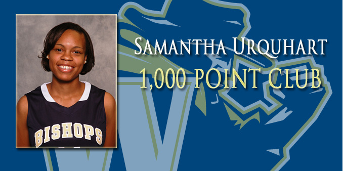 Urquhart Joins 1,000-Point Club, Bishops Win at LC