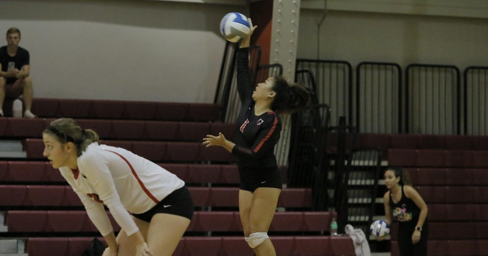 Service Aces Help Tartans Top #7 Emory, 3-1
