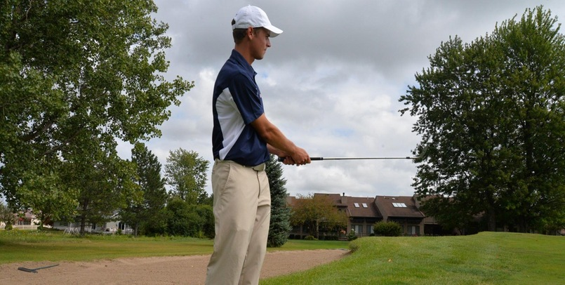 Men's Golf 5th After Day One at NMU Match Play Invite