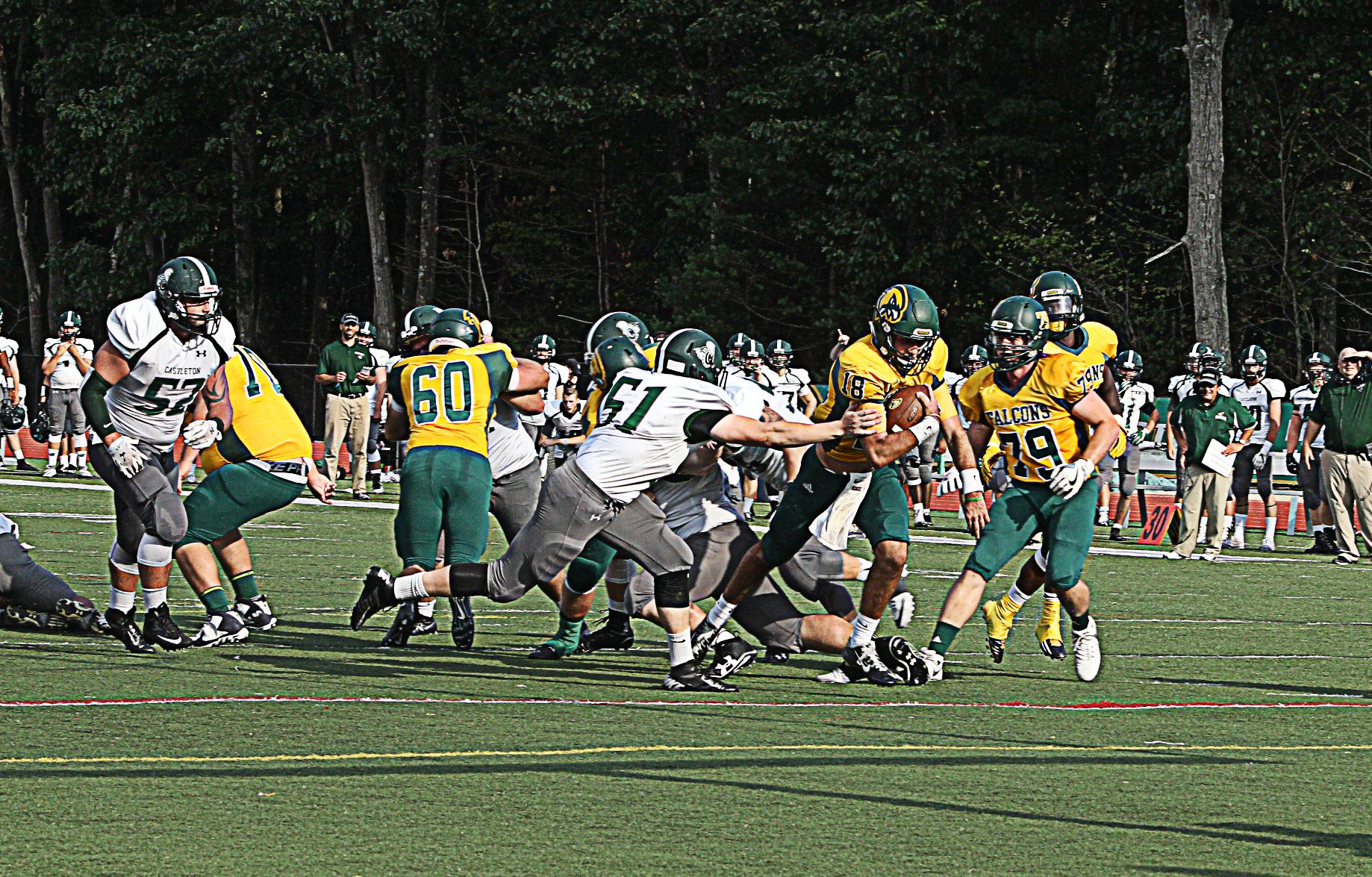 Fitchburg State Soars Past Castleton State, 34-3