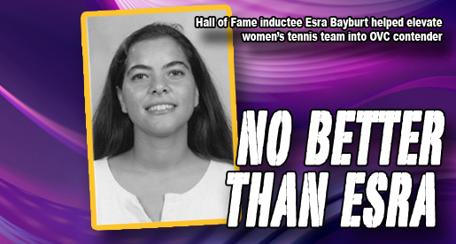 Tennis standout Esra Bayburt in 2011 TTU Sports Hall of Fame Class