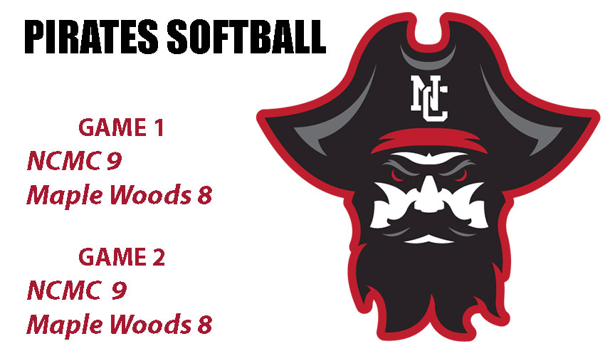 Hot Bats Lead Lady Pirates To A Pair Of 9-8 Wins