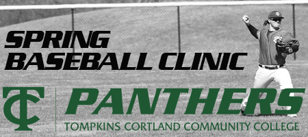 Spring Baseball Clinic header