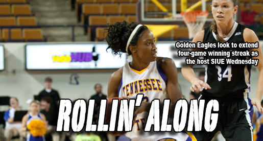 Golden Eagles bring four-game winning streak back home as they host SIUE