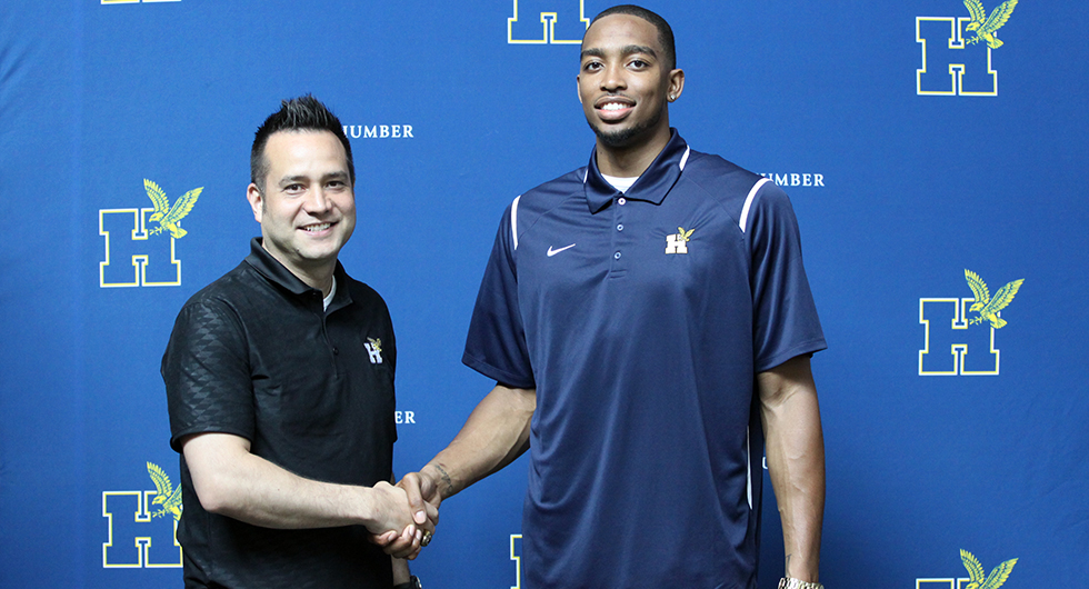 GAYLE COMMITS TO HUMBER BASKETBALL