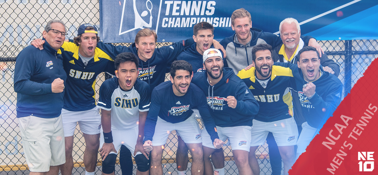 Embrace the Victory: SNHU Men's Tennis Advances to First-Ever Round of 16