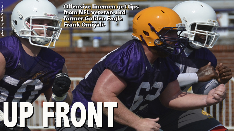 Camp Notebook: Second day includes focus on punt game, O-line help from Omiyale