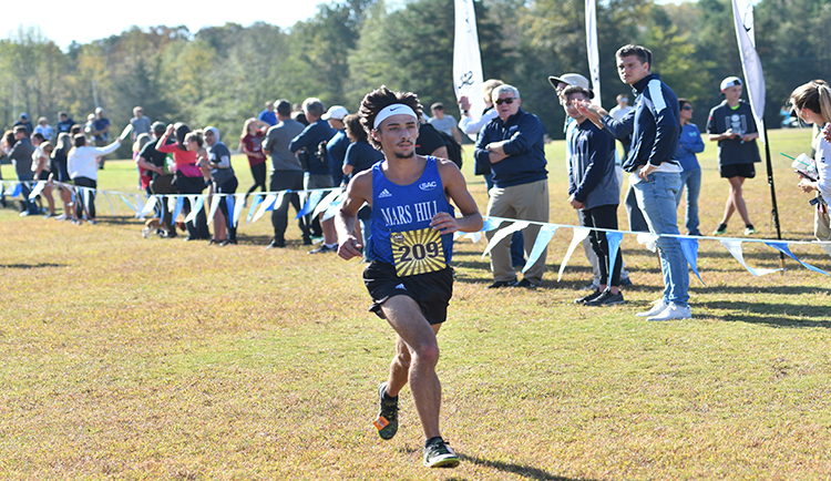 Mars Hill places ninth at SAC Championships