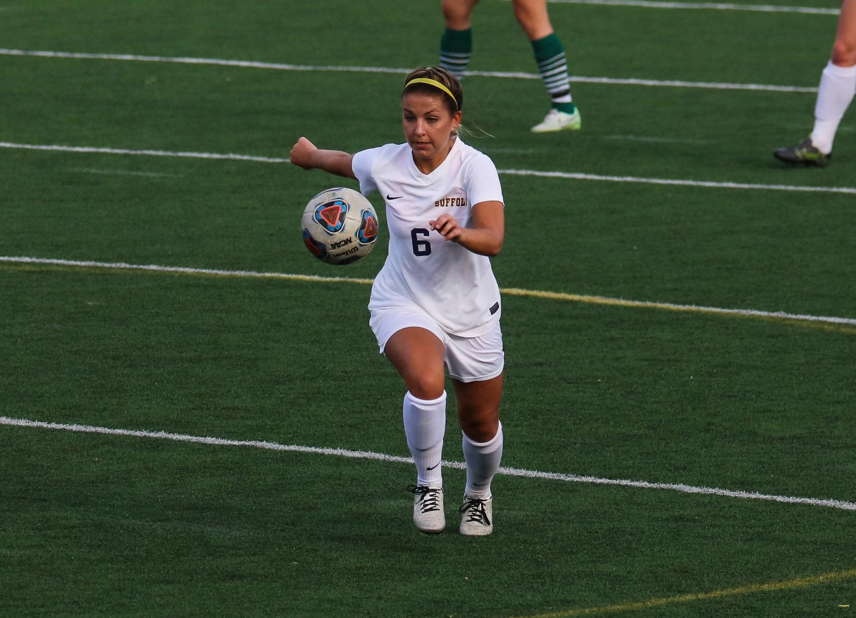 Women's Soccer Slips in GNAC Regular Season Finale at Rivier, 2-0