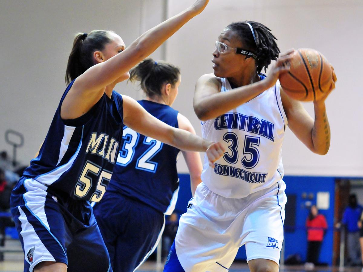 Udenze's Putback in Final Seconds Gives CCSU First Ever 3-0 Start in Northeast Conference Play