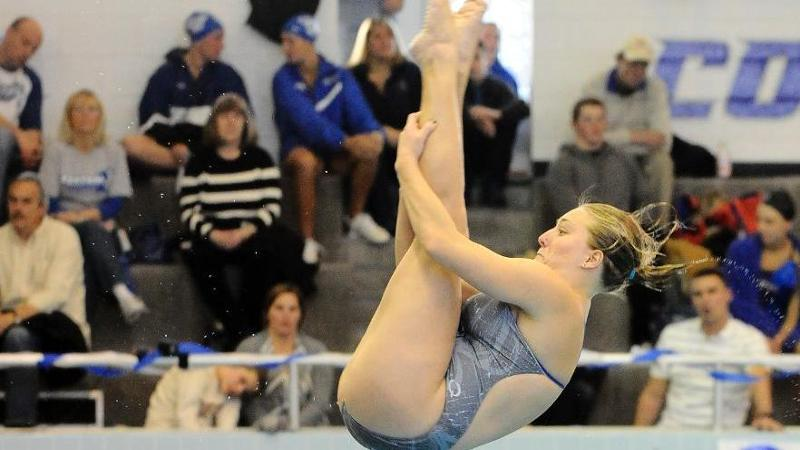 Goldman Earns Fourth-Straight Diver of the Week Honor