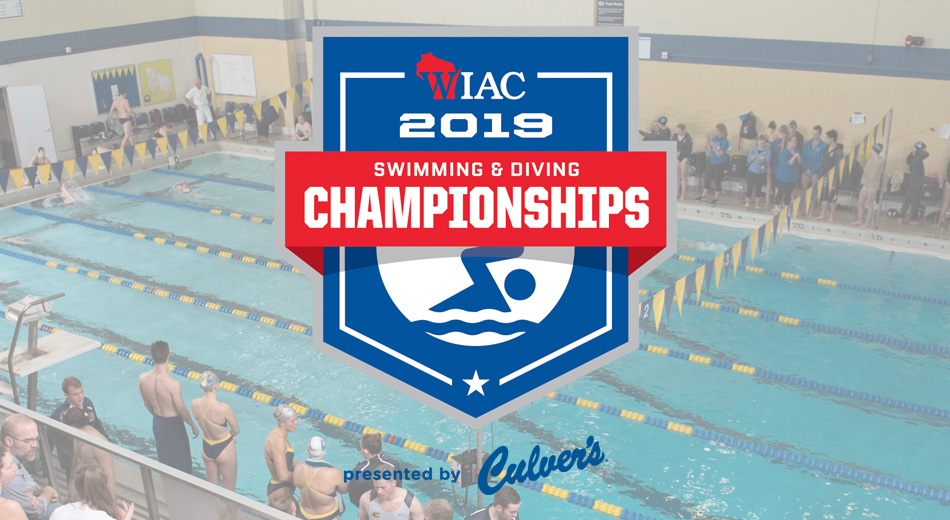 Blugolds break two records on opening day of WIAC Championships