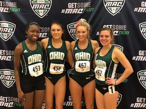 Ohio Track and Field in 11th Place after Day One of 2018 Indoor MAC Championships