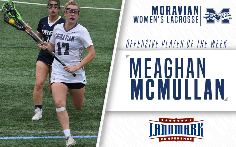 Meaghan McMullan Selected as Landmark Conference Offensive Athlete of the Week