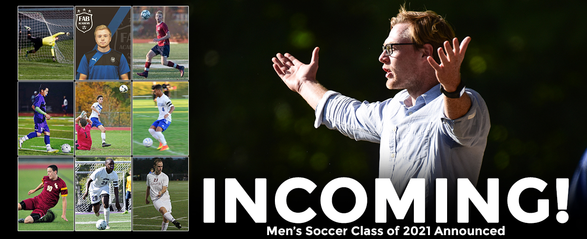 Men's Soccer Class of 2021 Announced