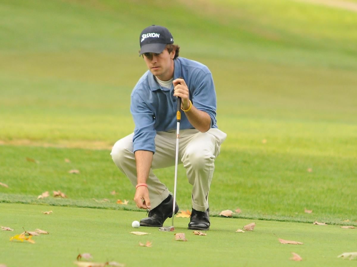 Pelletier Leads CCSU After Day 1 At Turning Stone Intercollegiate
