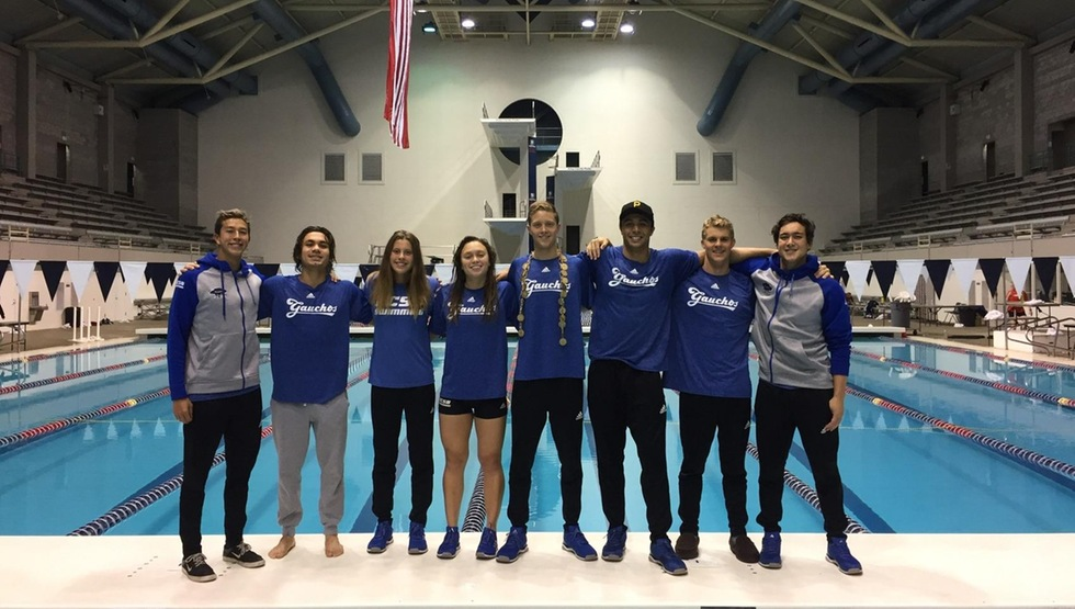 Gaucho Swim Breaks Six School Records at Husky Invitational