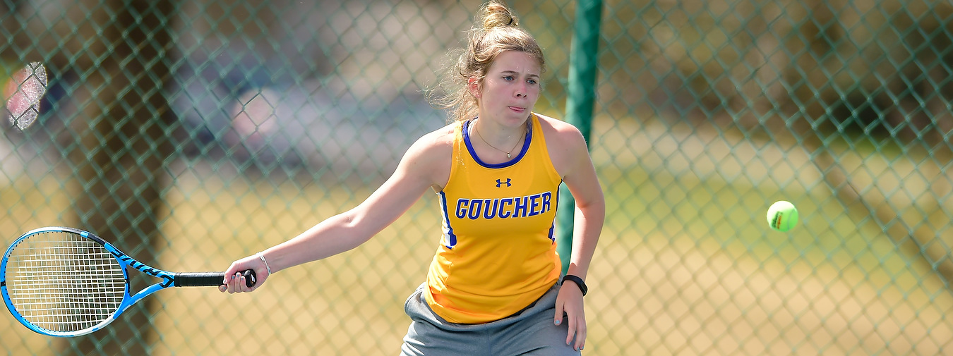 Goucher Women's Tennis Welcomes Notre Dame To The Goucher Tennis Courts On Wednesday