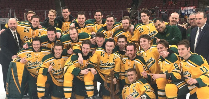 Clarkson wins Desert Hockey Classic Championship with win over Minnesota Duluth