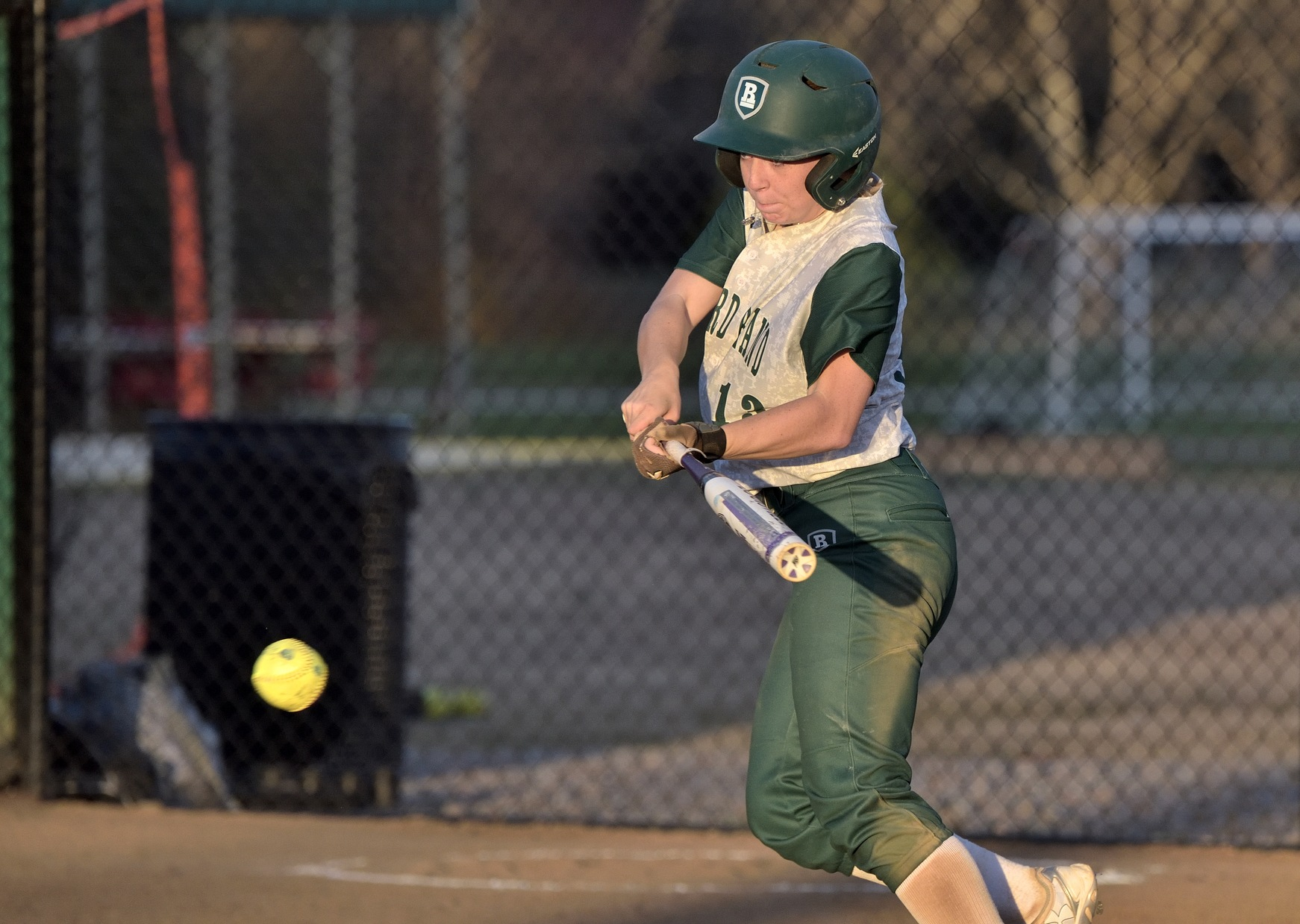 Richard Bland Splits Against Visiting Harford (Md.) 4-6, 12-4