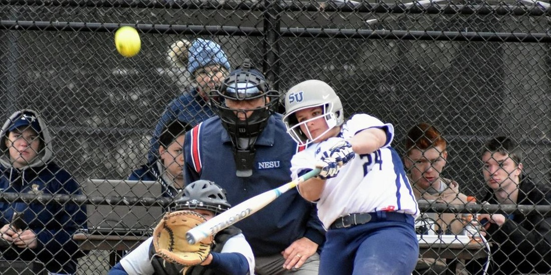 Sylvester's Shot Sends Softball Past St. Joseph's (Maine), 2-1, in Nine