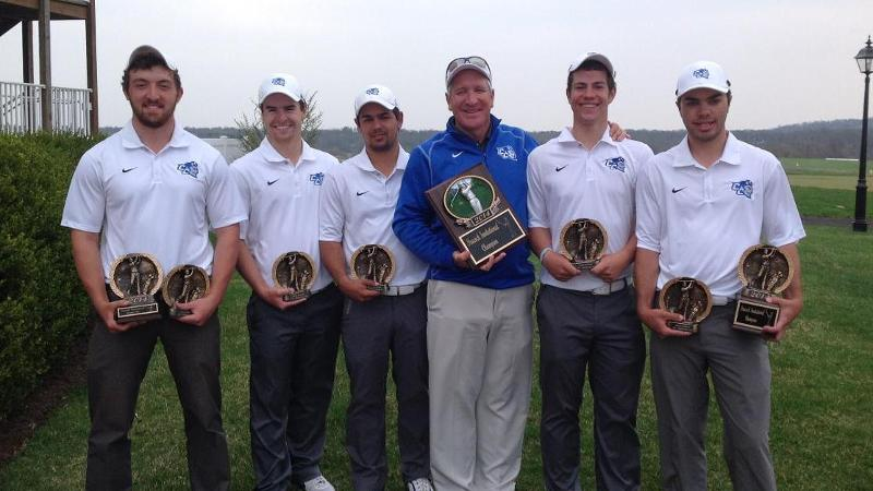 Men's Golf Wins Peacock Invitational