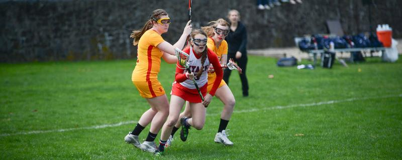 Lacrosse Downed By No. 1 PhillyU In CACC Clash