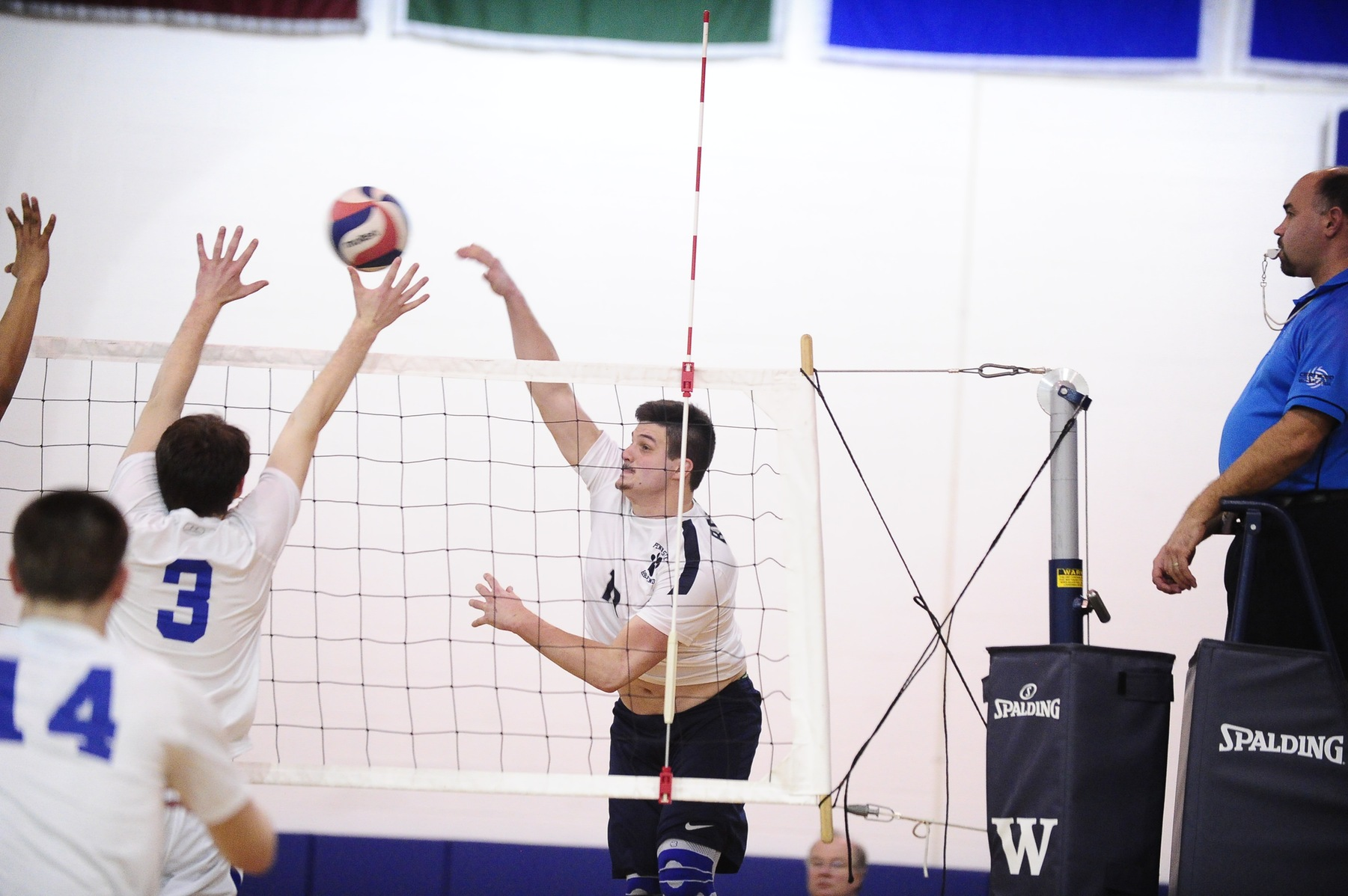 Men's Volleyball Wins in Four Against Wilkes
