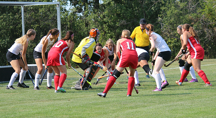 Fast Start Not Enough In 3-0 Field Hockey Loss