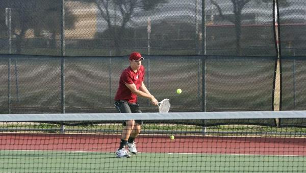 Men's Tennis Tops Dallas Baptist in Spring Opener