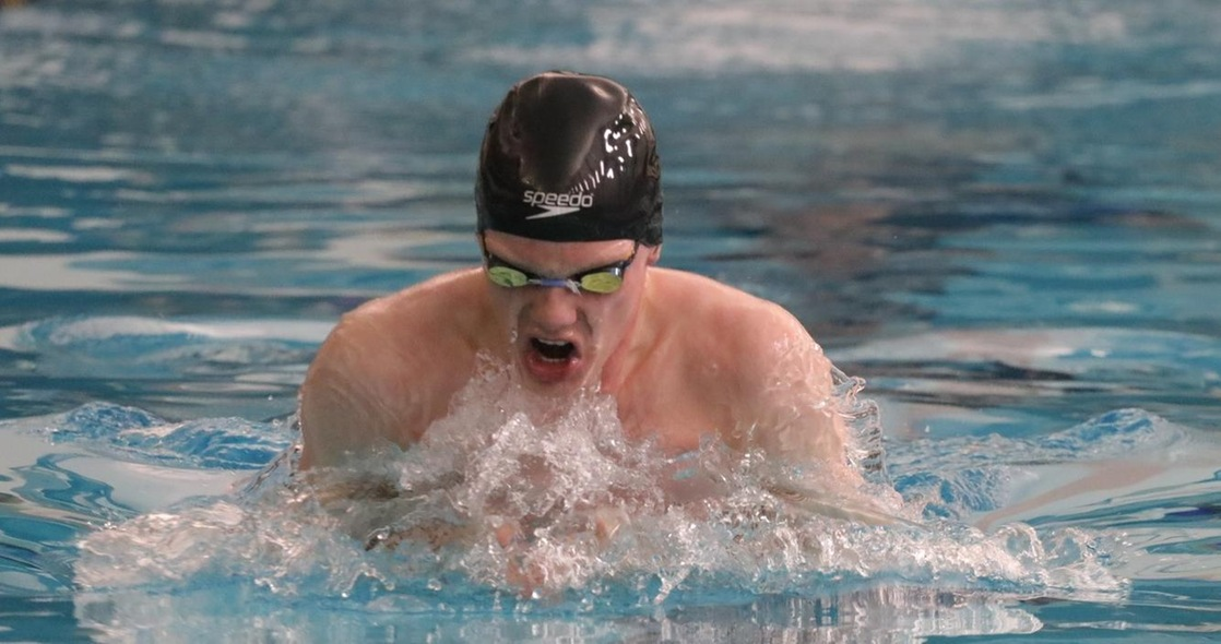 Alin Breaks 100-Yard Breaststroke Program Record on Day Two of OAC Championships