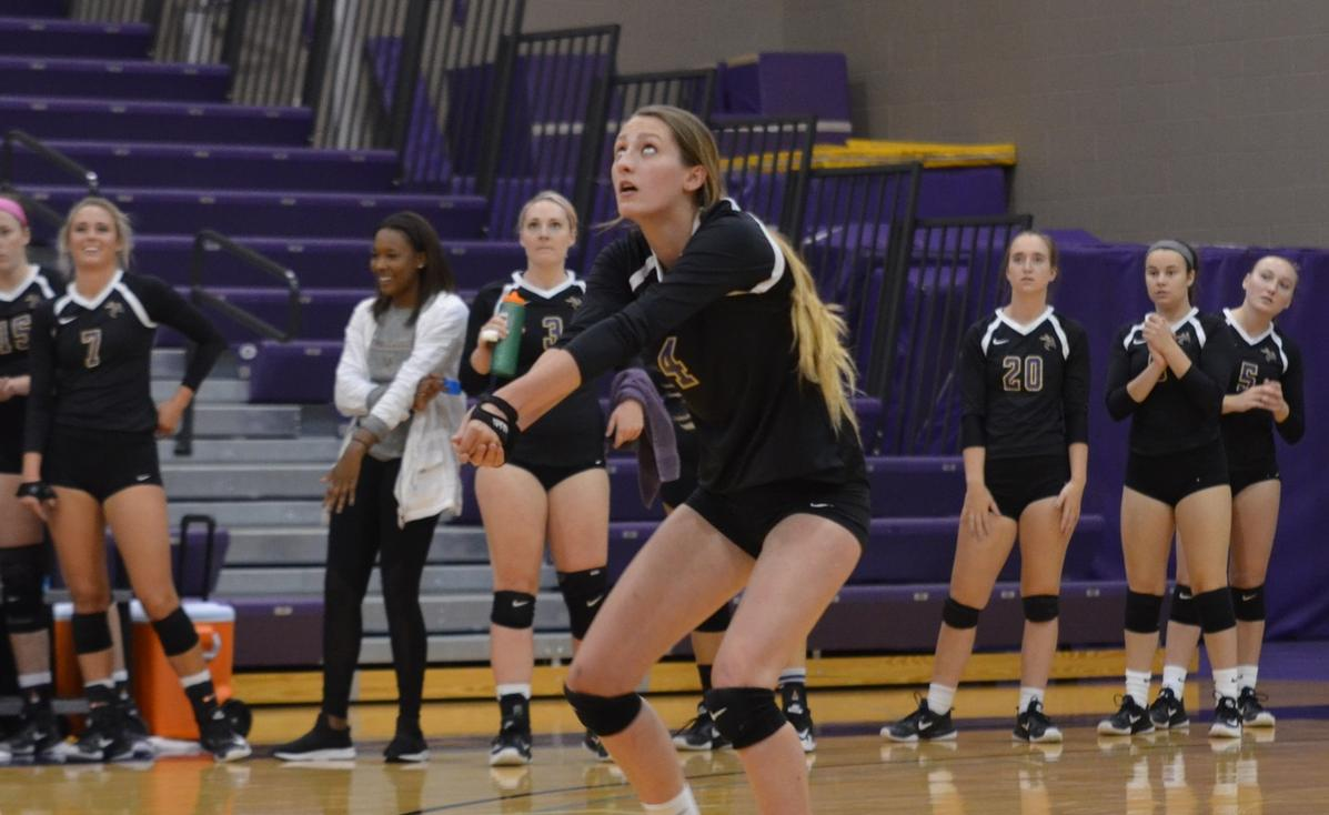 Yellow Jackets Swept by Nationally Ranked Opponents