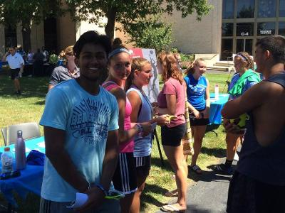 Soccer teams welcome new students
