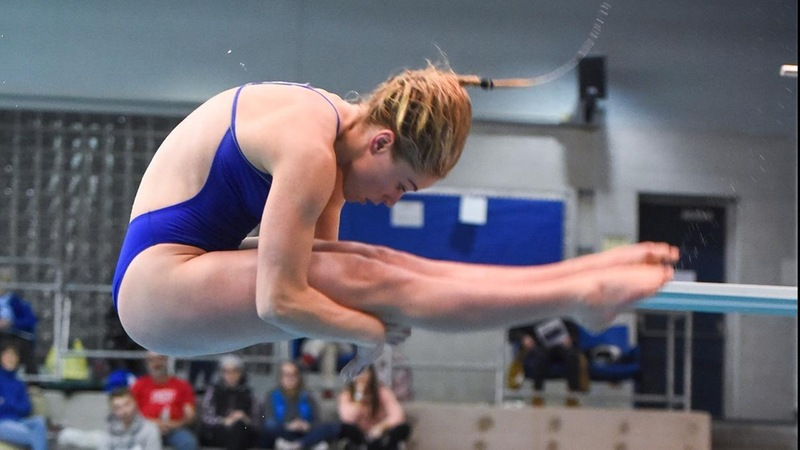 Durham Earns Another NEC Diver of the Week Award