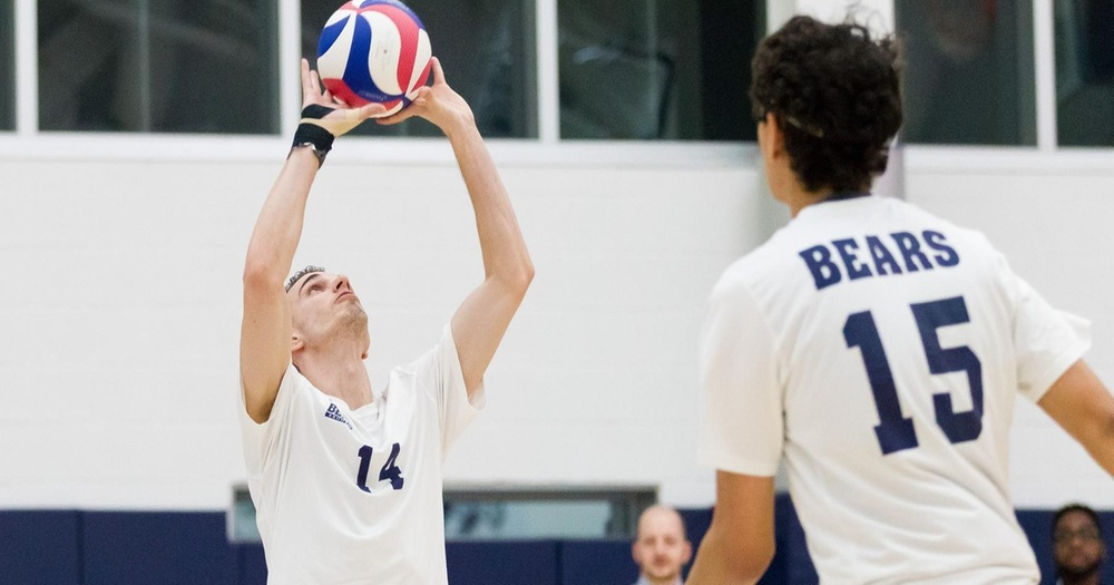 Men's Volleyball Plays Hard-Fought Match Against York