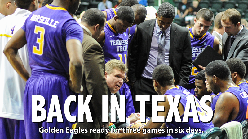 Back in Texas: Golden Eagles return to Longhorn State to face Lamar