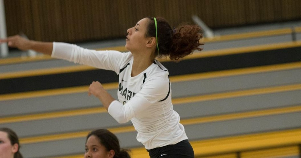 Volleyball Completes Non-Conference Slate With 3-0 Sweep of Cañada College
