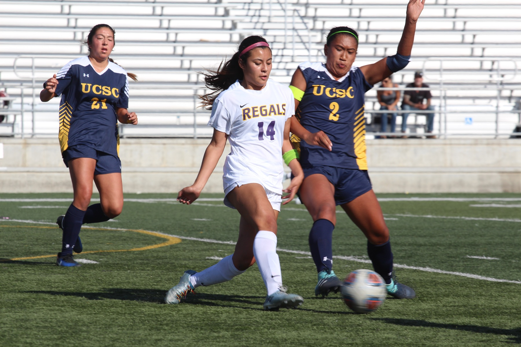 Regals Win Fourth Straight Game