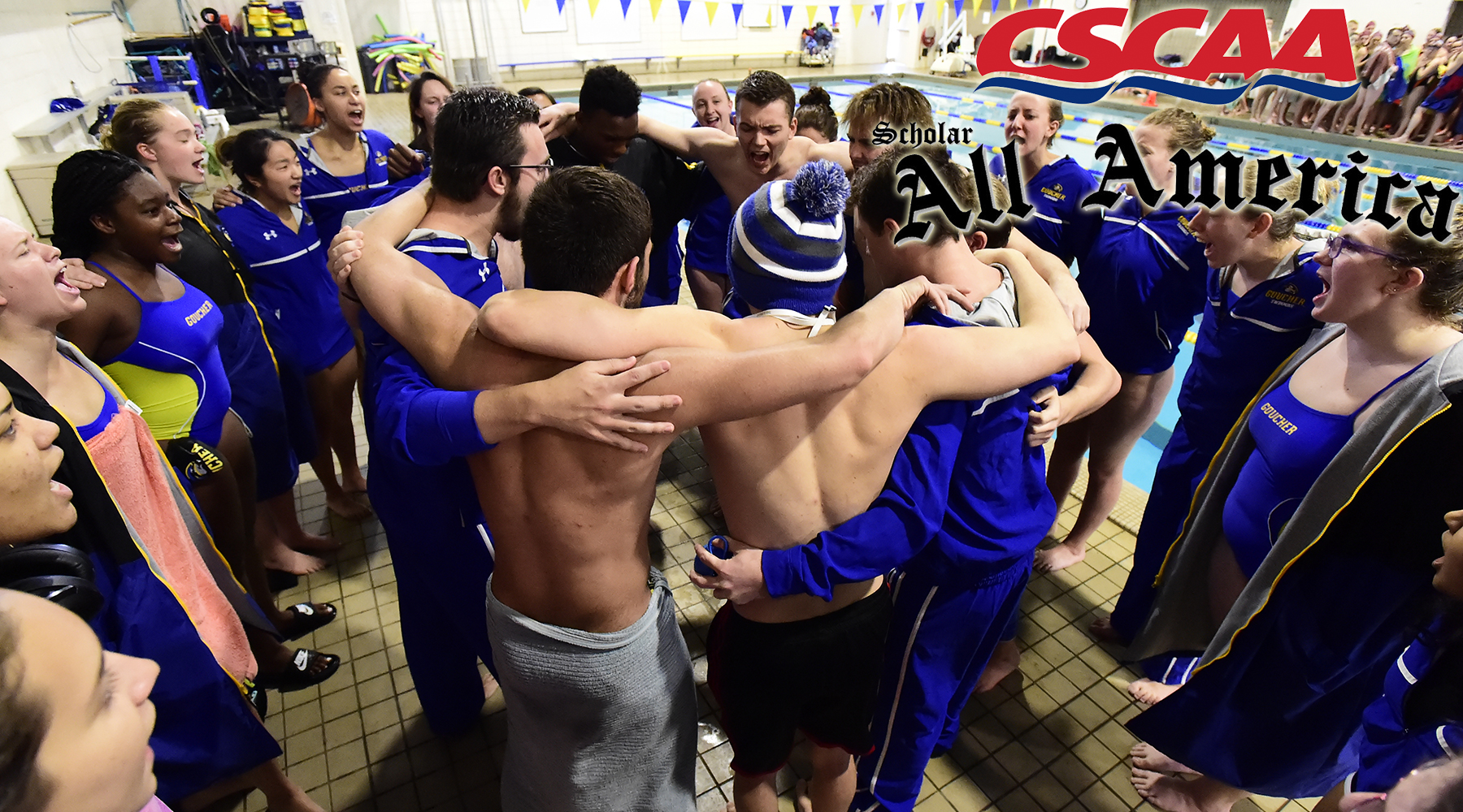 Men's & Women's Swimming Teams Earn CSCAA Scholar All-America Awards