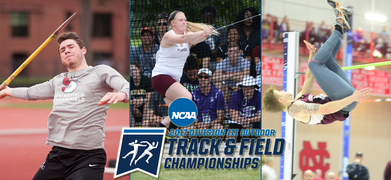 DeVaux, Markos, and Niemiec Headed to NCAA Division III Outdoor Track and Field Championships